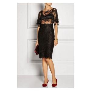 Dolce&Gabbana D&G Black Lace Pencil Skirt IT 38